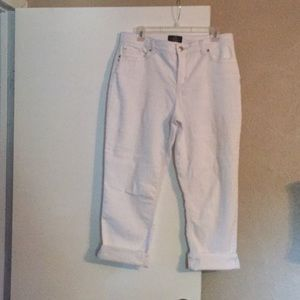White jeans from Chico's still good condition